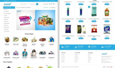 Multi-Vendor Demo 1, Stripling IT Ecommerce Website